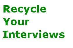 Reuse Interviews